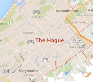 Short stay The Hague apartments map search